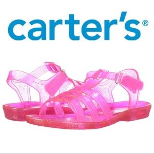 NWT Carter's Girls Jelly Sandals